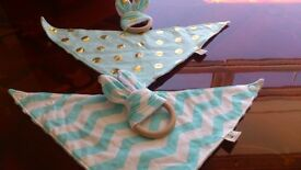 Baby Bib and Teether