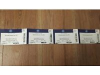 X4 Diversity Tickets (Close to the stage)