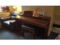Yamaha clavinova clp 170 , 88 weighted keys !