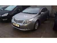 2009 ]TOYOTA AVENSIS T4 20 D4D DIESEI ,,,credit or debit cards accepted ,