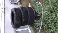 Studded Goodyear Tires