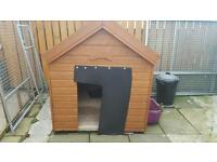 Xtra large dog kennel ..wooden