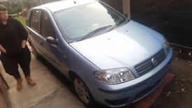 Fiat punto 2003, 11months MOT, spot on, well looked after