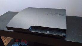 Playstation 3 Slim 160GB With 8 games GTA5