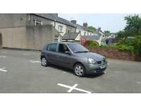 Renault clio 1.2 with long mot and very low miles