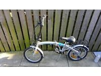 Folding bike ex cond ( can deliver )