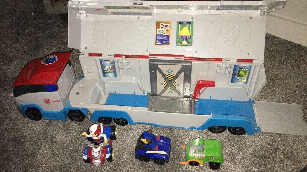 Paw Patroller Lorry And Pups In Warsash Hampshire Gumtree