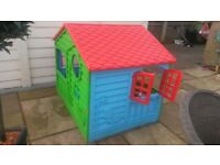 Childrens Playhouse with Table and Chair