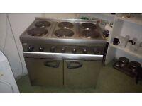 Lincat ESLR9C - 6 Hob Electric Oven Range (Silverlink 600)