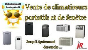 ** MÉGA VENTE D'ENTREPÔT D'AIR CLIMATISÉS PORTATIFS ET DE FENÊTRE **