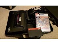 Sega mastersystem 2 with games