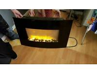 Light up fire place for sale