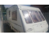caravan compass kensington 1998 2 berth good nick swift abi