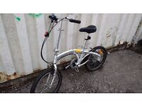 FOLDING PYRAMID FOLDING BIKE 6 SPEED 20 INCH WHEEL AVAILABLE FOR SALE