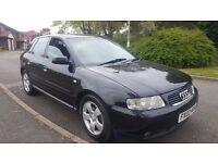 Audi A3 1.8 turbo, 2002, Petrol, 5 door hatchback, *Good Clean Example* *2 keys*