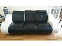 3 Seater and 2 Setaer leather