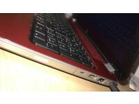 Hp pavilion laptop. Red. With charger