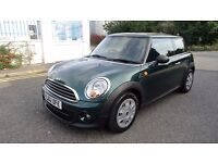 MINI Hatch 1.6 One D 3dr 1 OWNER,FSH,WARRANTY,HPI CLEAR