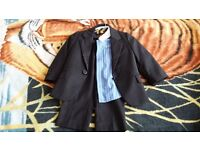 BABY BOYS AGE 12-18 MONTHS SMART 4 PIECE SUIT PARTY OUTFIT