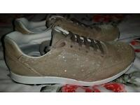 Ladies River Island trainers size 4