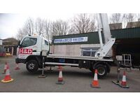 Cherry Picker For Hire - Lorry Mounted Access Platform
