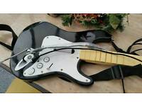 Xbox rockband guitar