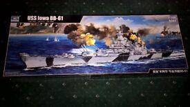 Trumpeter 1:200 USS Iowa Model Kit