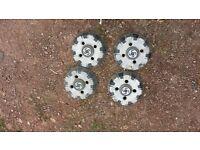 genuine rare original mini 1275gt clubman estate hub caps