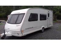 Swift Corniche 3 berth caravan with awning and starter kit