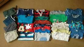 Boys clothes bundle age 12-18 months