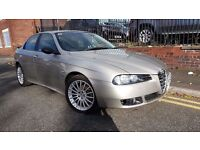 2004 Alfa Romeo 156 1.9 JTD Veloce 4dr, FSH, 1 Owner From New, Warranty & Breakdown Available, £995
