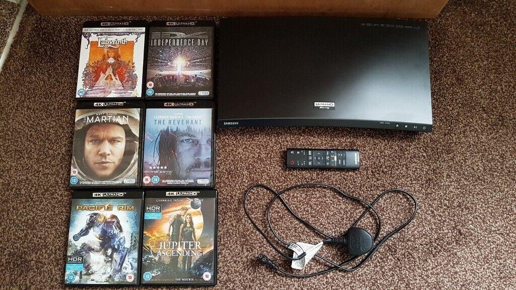 Samsung Ubd-k8500 Smart 4k Ultra HD 3d Blu-ray Player with manual & remote  plus six 4K ultra HD dvds | in Sinfin, Derbyshire | Gumtree