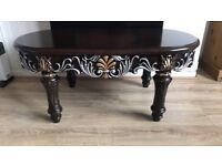 Greek style coffee table