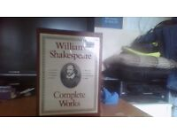 William Shakespeare The Complete Collected Works, Includes The Tragedies, Poems and Novels