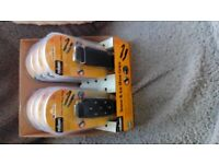 Snow and ice shoe grips