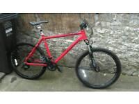 Carrera vulcan SEdition bike