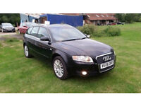 Audi A4 B7 Estate 2.0 TDI 2006y manual Long MOT