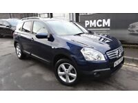 2009 Nissan Qashqai 2.0DCI +2 - 7 SEATER - PAN ROOF - F.S.H - People carrier zafira touran kuga