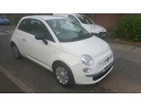 2010 FIAT 500 POP 1.2 MINT CONDITION 12 MONTH MOT 30£ TAX