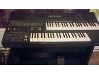 farfisa ts600 electric organ