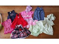 Baby Girl Clothes Bundle - Size 6-12 months (6-9m, 9-12m, and 6-12m) - Excellent Condition