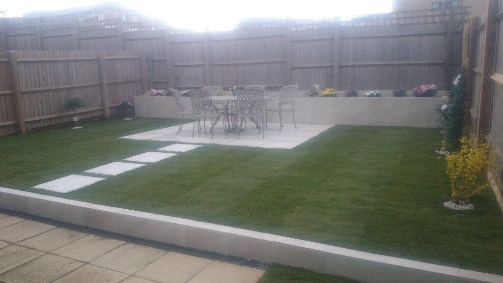 Fence patio turf artificial grass decking garden clearance for Garden decking gumtree