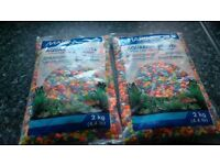 Aquarium Gravel - multi colour - 2 x 2kg bags