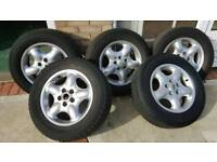 Landrover freelander 1 alloy wheels and tyres