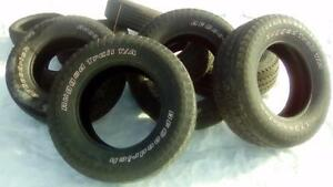 Four BF Goodrich P275 65 18 M+S tires
