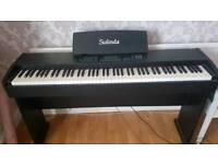 Sulinda full length weighted key digital piano