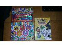 Pokemon books and toys plushies and Star Wars book