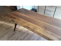 BRAND NEW Walnut Dining Table 1-3 Days Free Delivery Only One in UK 220x90cm