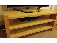 M&S sold oak TV unit