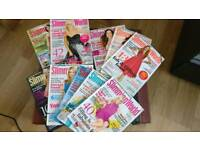Collection of slimming world magazines